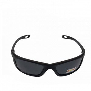 Стильные мужские очки Greg в чёрной матовой оправе с затемнёнными линзами.