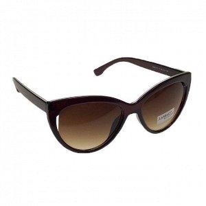 Стильные женские очки Versel лисички шоколадного цвета.