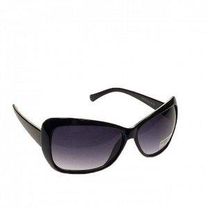 Стильные женские очки вайфареры Sharmel чёрного цвета.