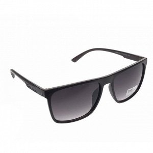 Стильные мужские очки Buono чёрного цвета с затемнёнными линзами.