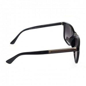 Стильные мужские очки Fagar чёрного цвета с затемнёнными линзами.