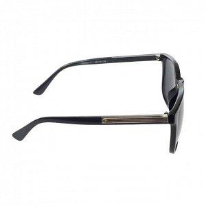 Стильные мужские очки Fagar чёрного цвета с чёрными линзами.