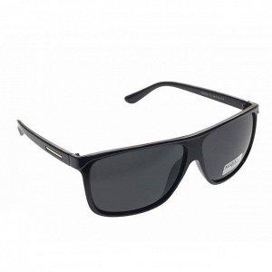 Стильные мужские очки Lexmar чёрного цвета с чёрными линзами.