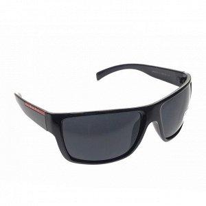 Стильные мужские очки Duos с чёрными линзами.