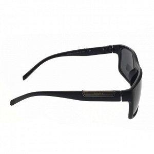 Стильные мужские очки Taron в матовой с чёрными линзами.