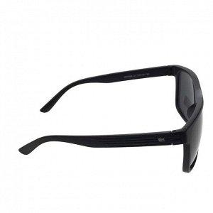 Стильные мужские очки Gover чёрного цвета в матовой оправе.