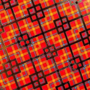 """Цветной картон """"Калейдоскоп"""" поделочный с тиснением  А4, набор 4шт"""