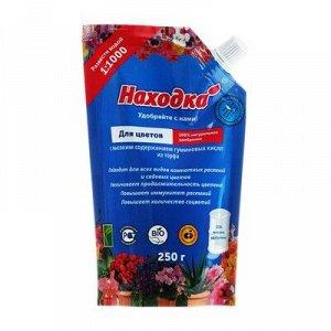 Удобрение из торфа для цветов в пасте, Концентрат на 250 л., Дой-пак, 0,25 кг