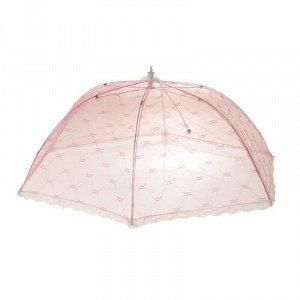 """Сетка защитная для еды 70х70 см, """"Зонтик"""" микс цвета"""