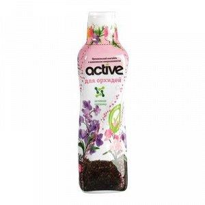 Удобрение органоминеральный коктейль Active для Орхидей, 0,5л