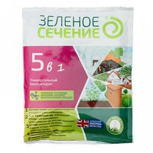 Универсальный биопрепарат 5 в1, для теплиц, септиков, компостов, дачных туалетов, 50 г