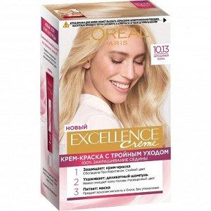 Крем-краска для волос L'Oreal Excellence Creme, тон 10.13, легендарный блонд