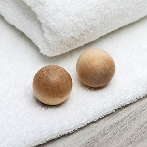 Массажёр «Шары», деревянный, 2 шт