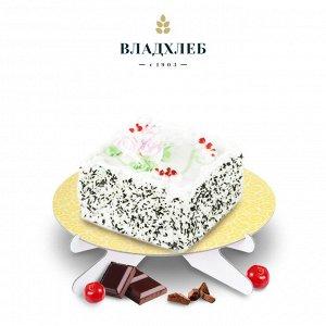 Торт «Аленушка»  (творожный с брусникой)
