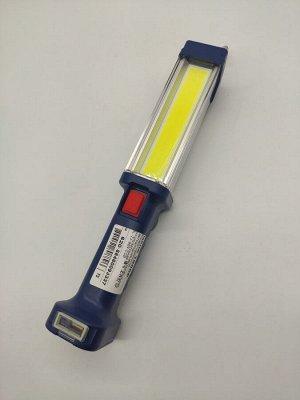 Фонарь Удобное крепление (магнит или крючок) USB порт для зарядки гаджетов Два режима работы