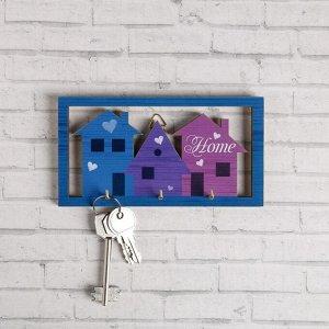 """Ключница """"Home"""" домики"""