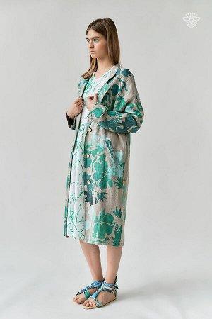 """Пальто летнее """"Листья"""""""