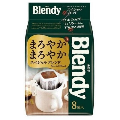 Кофе из Японии. Дриппакеты - это удобно!   — Выбор покупателей! Дрип пакеты Blendy — Молотый кофе