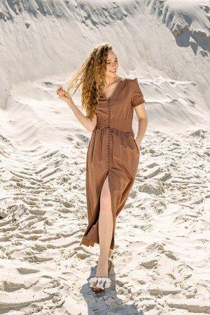 Платье Платье Pur Pur 01-731  Состав: Хлопок-50%; Лён-50%; Сезон: Весна-Лето Рост: 170
