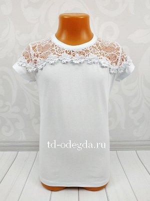 Блузка белая как на фото