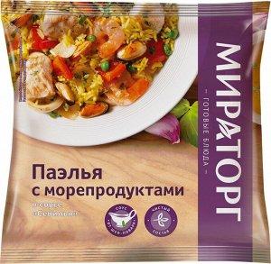 """Паэлья с морепродуктами  соусе """"Севилья"""" 400г"""
