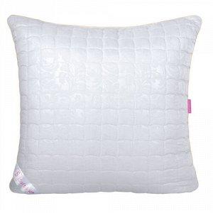 Подушка шёлк  Soft&Soft  50х70, в микрофибре с тиснением, 100% полиэстер