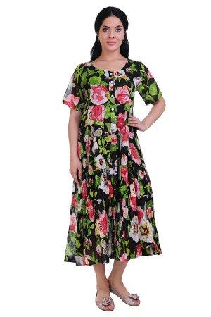 Платье Nautical Цвет: Черный, Мультиколор. Производитель: Ганг