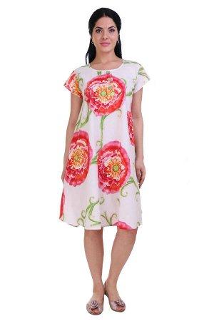 Платье Purple Цвет: Розовый, Белый (48-54). Производитель: Ганг