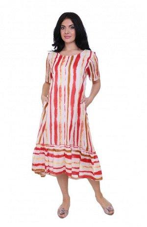 Платье Josette Цвет: Красный, Белый. Производитель: Ганг