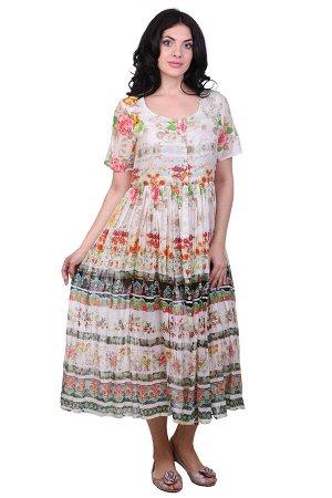 Платье Aileen Цвет: Бежевый,Мультиколор. Производитель: Ганг