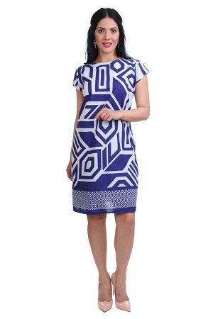 Платье Opal Цвет: Белый, Синий. Производитель: Ганг