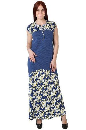 Платье Rebekah Цвет: Синий. Производитель: Оптима Трикотаж
