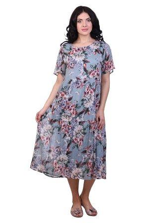 Платье Farah Цвет: Светло-Серый,Мультиколор. Производитель: Ганг