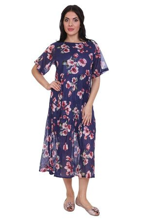 Платье Barrett Цвет: Синий,Мультиколор. Производитель: Ганг