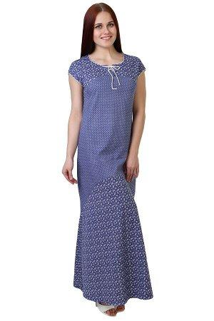 Платье Rebekah Цвет: Васильковый. Производитель: Оптима Трикотаж