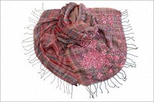 Накидка-палантин Saranna Цвет Мультиколор (65х189 см)