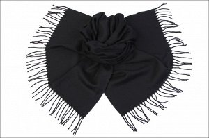 Накидка-палантин Aeron Цвет Чёрный (60х170 см)