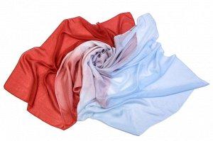 Накидка-палантин Ibri Цвет: Красный, Голубой (110х175 см). Производитель: Ганг