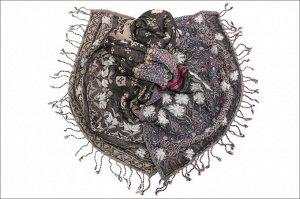 Накидка-палантин Alvy Цвет Коричневый (65х189 см)