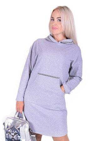 Платье Prunella Цвет Серый.