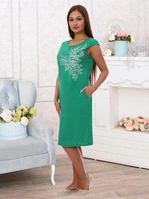 Платье Arina Цвет: Изумрудный. Производитель: Адель