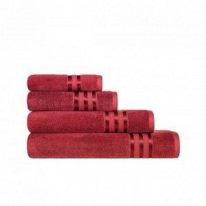 Полотенце Аркадия Цвет: Красно-Бордовый (70х140 см). Производитель: Togas