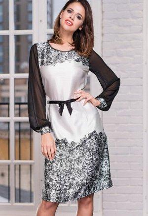 Платье Sonata Цвет: Молочный. Производитель: Mia-Amore
