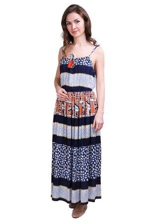 Платье Perette Цвет: Синий, Мультиколор. Производитель: Ганг