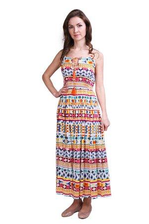 Платье Charming Цвет: Белый, Мультиколор. Производитель: Ганг