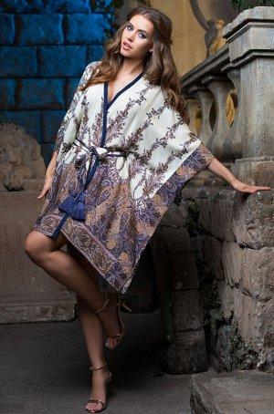 Домашний халат Shakira Цвет: Синий. Производитель: Mia-Mia