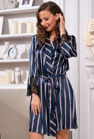 Домашний халат Bonarda Цвет: Темно-Синий (44-46). Производитель: Mia-Amore