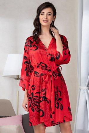 Домашний халат Ice Цвет: Красный. Производитель: Mia-Amore