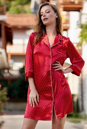 Домашний халат Plenitude Цвет: Красный. Производитель: Mia-Mella