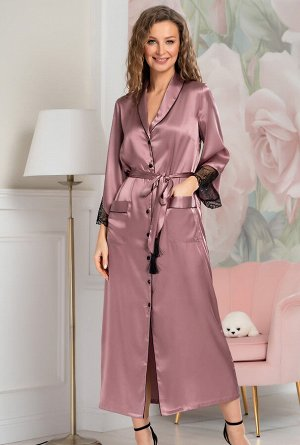 Домашний халат Torbole Цвет: Античная Роза. Производитель: Mia-Amore